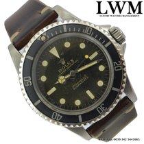 Rolex Submariner 5513 Cornino Underline Tropical gilt dial  1962