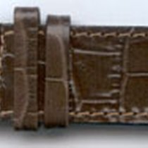Leder-Armband Olympia 26mm Farbe: dunkelbraun