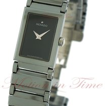 Movado Valor Ladies, Black Museum Dial - Stainless Steel on...