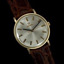 Omega 1973 Dress Watch, Technical Dial, IBM Presentation 14K Gold