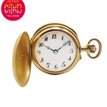 Small Pocket Watch 18K Gold