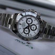 Rolex DAYTONA COSMOGRAPH WHITE CERAMIC BLACK BEZEL