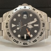 Rolex Explorer Il Black Dial 42mm Completo 2012
