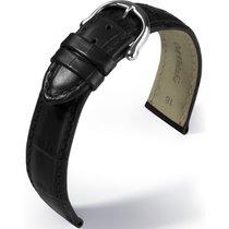 Maurice Lacroix Les Classiques Lederband Kroko imit. Schwarz...