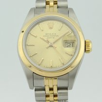 Rolex Oyster Perpetual Date Automatic Steel-18K Gold Lady 69163