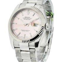 Rolex Unworn 116234pio 36mm Datejust with Oyster Bracelet -...