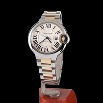 Cartier Ballon Bleu Steel and Gold Automatic Medium Size