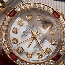 Rolex Ladies Rolex Steel Ss& 18k Gold 26mm Datejust Watch...