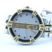 Maurice Lacroix Calypso Herren Uhr Quartz 36mm Mit Stahl Band 2