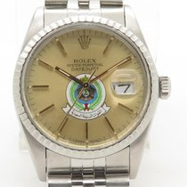 Rolex Datejust 16030 Quickset On Jubilee 36m W/ Papers Saudi...