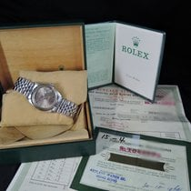 Rolex DATEJUST 1601 SS ORIGINAL Brown SIGMA Dial with Box and...