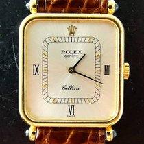 Rolex Cellini Yellow Gold 18K 750 Vintage Luxury Mens Watch