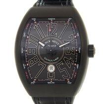 Franck Muller Vanguard Titanium Black Automatic V 45 Sc Dt...