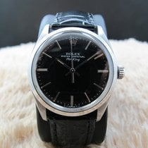 Rolex AIR KING 5500 with Original Glossy Black Dial
