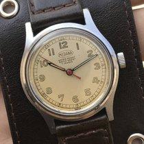 Medana WWII Military Watch, Manual Wind