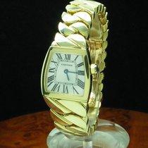 Cartier La Dona 18kt 750 Gold Damenuhr Inkl. Box & Papiere