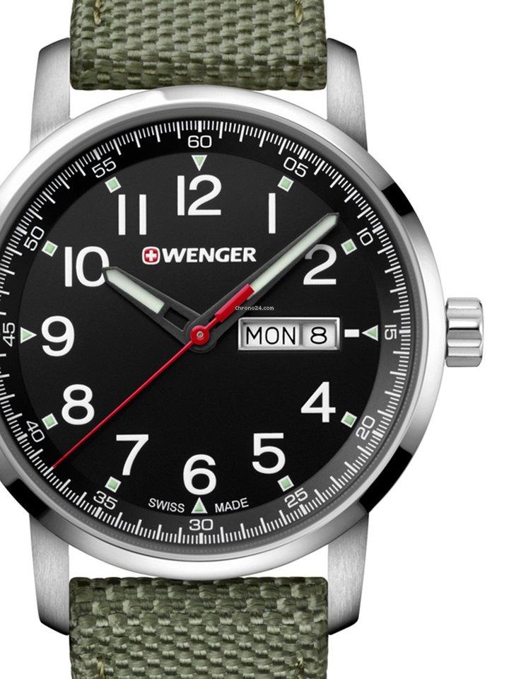 Часы Wenger 01.1541.109 Часы Casio PRG-240-1D