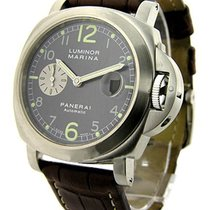Panerai PAM 00086 PAM 86 - Luminor Marina in Steel - on Black...
