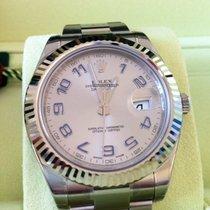 Rolex Datejust II Ref.116334  Rhodium ZB/Oysterband