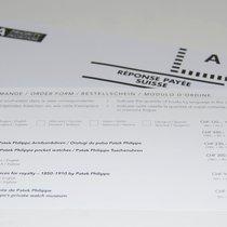 Patek Philippe Briefumschlag mit Beschtellschein
