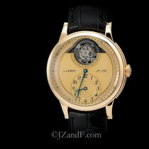 L.Leroy Osmior Tourbillon 18K Rose Gold Chronometer