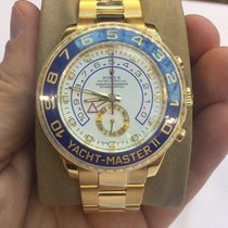 Rolex Yacht-Master II 44mm Yellow Gold German Papers 2009 LC 100