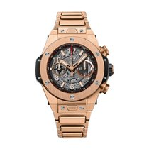 Hublot Big Bang Unico 45mm Automatic 18K Rose Gold Mens Watch...