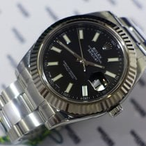 Rolex Datejust Oyster Perpetual Steel Balck Dial - 116334