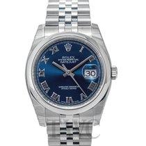 롤렉스 (Rolex) Datejust Steel Blue/Steel Ø36mm - 116200