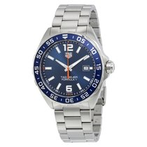 TAG Heuer FORMULA 1  Blu 43 mm Steel Men's WAZ1010 BA0842