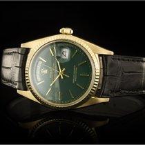 Rolex Day-Date (36mm) Ref.: 1803 in 18k Gelbgold mit Lederband...