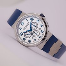 Ulysse Nardin Marine Chronograph White Dial Manufacture