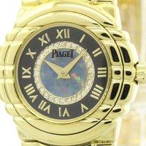 Piaget Polished Piaget Tanagra Diamond Opal 18k Gold Ladies...