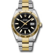 Rolex Datejust 41mm 126333 Stainless Steel & 18K Gold...
