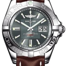 Breitling a49350L2/g699 Galactic 41 Mens Automatic in Steel -...