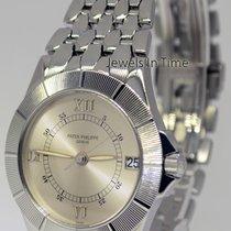Patek Philippe Mens Neptune Steel Silver Dial Automatic Mens...
