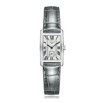 Longines DolceVita Quartz Stainless Steel White Dial Ladies...