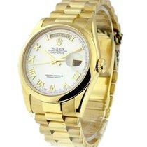 ロレックス (Rolex) Used 118208 Mens Yellow Gold President with MOP...
