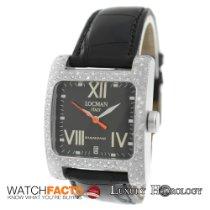 Locman New Unisex Tonneau Ref. 431 Diamond Bezel Aluminum Case I