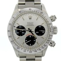 Rolex Big Red Daytona 1986 r.6265 SS Panda Dial Box Papers...