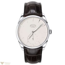 Parmigiani Fleurier Tonda 1950 18K White Gold Leather Men`s Watch