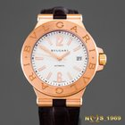 Bulgari Diagono 18K Rose Gold DGP 40 G automatic BOX & PAPERS