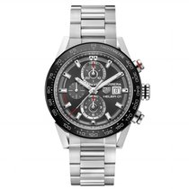 TAG Heuer Carrera Caliber Heuer 01 43mm Mens Watch car201w.ba0714