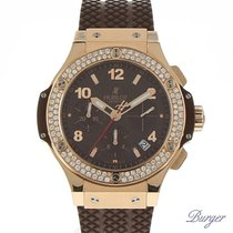 Hublot Big Bang Cappuccino Rose Gold Diamonds