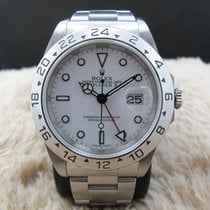 Rolex 1999 ROLEX EXPLORER 2 16570 WHITE (SWISS MADE) DIAL