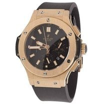 Hublot Pre-Owned Excellent Mens 44 MM Hublot Big Bang 18k Red...