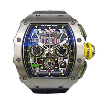 Richard Mille RM011 -03  Automatic Flyback Chronograph Titanium