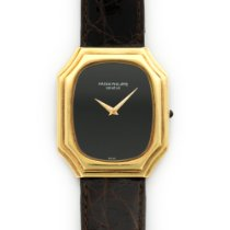 Patek Philippe Yellow Gold with Onyx Dial Ref. 3729