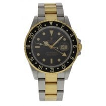 Rolex GMT-Master II 18K Yellow Gold & S/S 16713