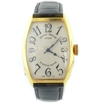 Franck Muller Mens  Ref 5850 Sc 18k Yellow Gold Automatic...